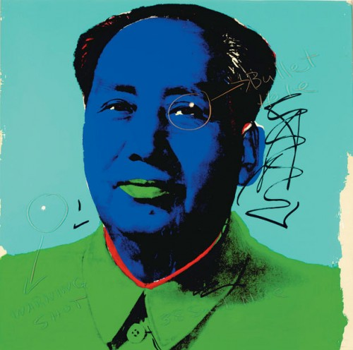 Warhol/Hopper Mao Collaboration