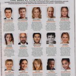 Hunger Games Cast Sheet