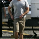 Liam Hemsworth Hunger Games Set