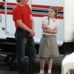 Willow Shields Hunger Games Set