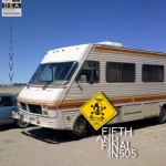 Breaking Bad Season Five Mobile Meth Lab on set in New Mexico