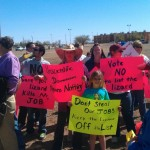 Obama New Mexico Oil Lizard Protestors KZ93