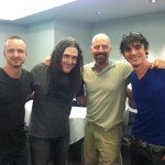 Aaron Paul Al Yankovic Bryan Cranston RJ Mitte Break Bad