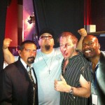 Steven Michael Quezada, Marco Nunez, Bob Odenkirk, Kenny King by Mike Cee Carpenter