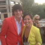 Breaking Bad Season Five Premiere Party ABQ RJ Mitte Antoinette Antonio