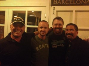 Breaking Bad Season Five Premiere Party ABQ Vince Gilligan Cast