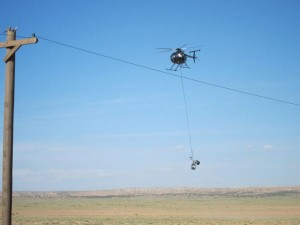 Chopper Cam on The Lone Ranger Set