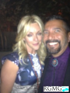 30 Rock star Jane Krakowski with Breaking Bad and The After After Party star Steven Michael Quezada