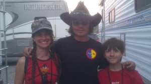 Depp on NM Set of TLR