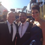 Hank, Marie & Gomez!!! Breaking Bad on the 2012 Emmy Red Carpet