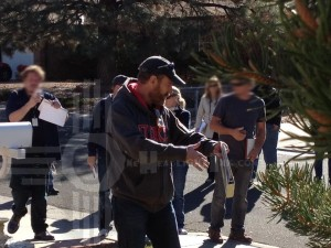 OHI Bryan Cranston On Location in New Mexico for final Breaking Bad 1