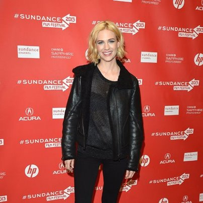 January Jones at Sundance via HELLO