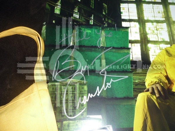 Br Ba Cranston autograph close-up OHI