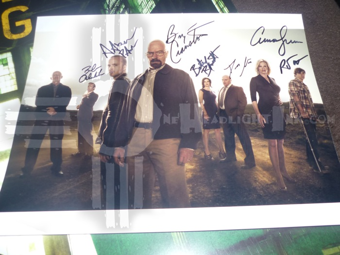 Br Ba Signed Cast Photo OHI