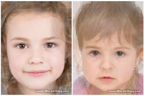 Natalie Portman on screen daughter composite