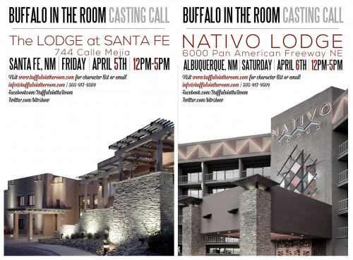 Buffalo in the Room Series Casting Native Americans
