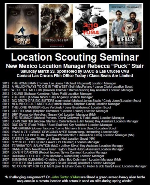 New Mexico Location Scouting Seminar
