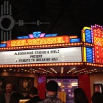 Tribute to Breaking Bad Marquee Cranston with Fans