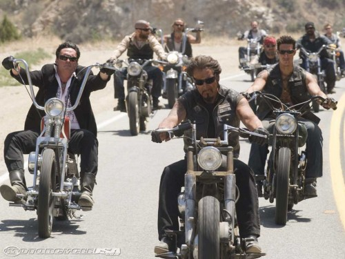 Casting Harley Davidson Bikers for National Commercial in New Mexico