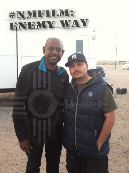 Forest Whitaker with New Mexico Actor Joshua R Aragon