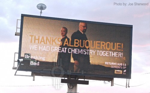 Breaking Bad Thanks Albuquerque