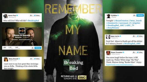 Breaking Bad Social Media Goodbyes