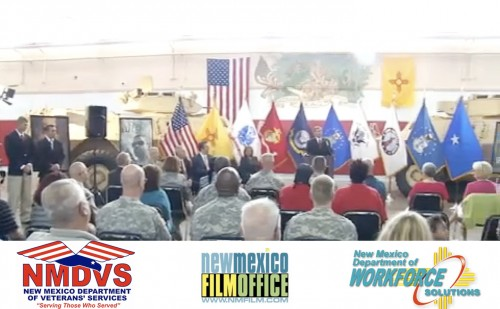 Veterans to work on New Mexico Film