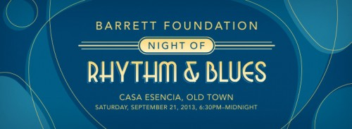 Barrett Foundation Night of Rhythm and Blues Fundraiser