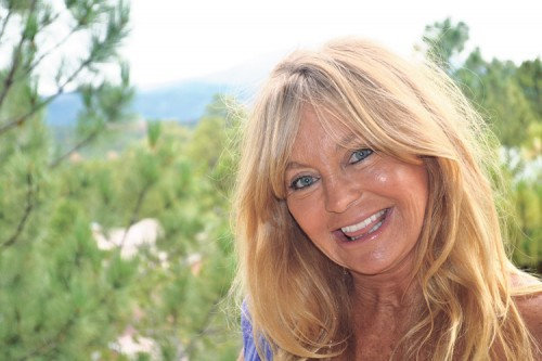 Goldie Hawn in Ruidoso New Mexico