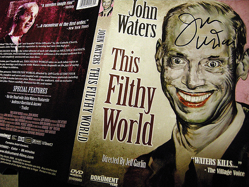 John Waters Filthy Word Live in Santa Fe