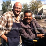 George Lopez filming in Albuquerque New Mexi