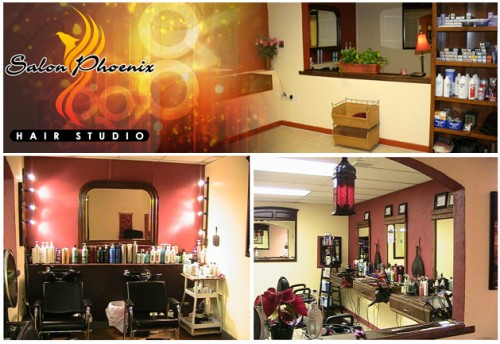 Salon Phoenix Booth Rental
