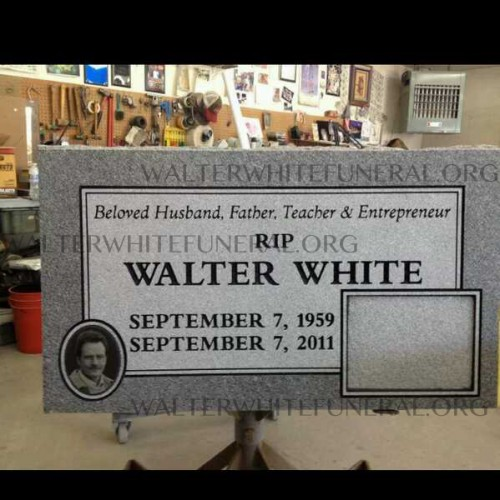 Walter Whites Tombstone in Albuquerque