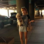 Bella Thorne Arrives at Albuquerque Airport to Film a New Movie