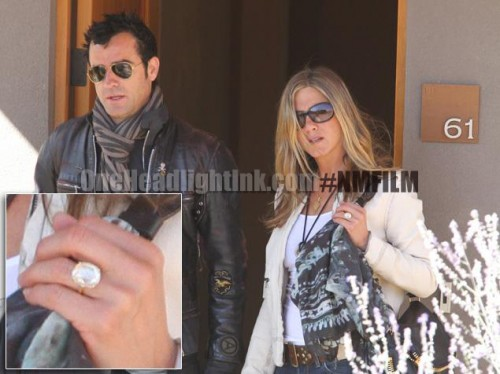 Jenninfer Aniston Ring in New Mexico