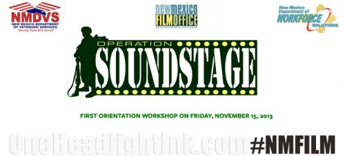 NMFilm Jobs for Veterans Operation Soundstage