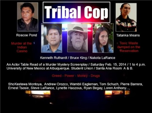 Tribal Cop Table Read Casting New Mexico Film