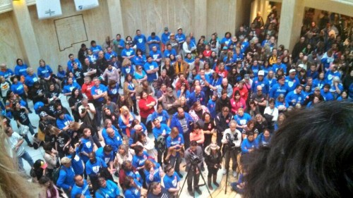 New Mexico Education Rally Shakes the Roundhouse NMLeg