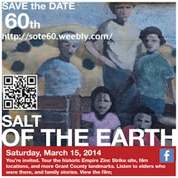 Salt of the Earth film 60th Anniversary Events
