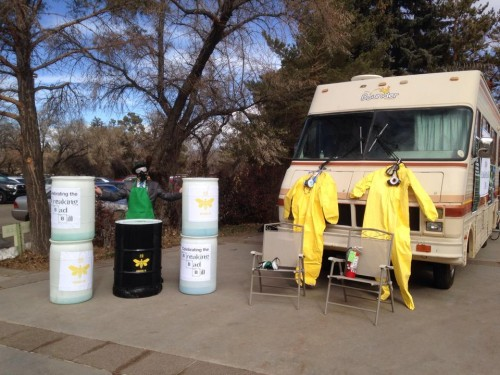 Breaking Bad RV Tours of Albuquerque Filming Locations