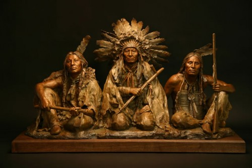 Coleman Studio Native American Sculpture