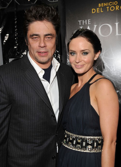 Benicio del Toro Emily Blunt filming in New Mexico
