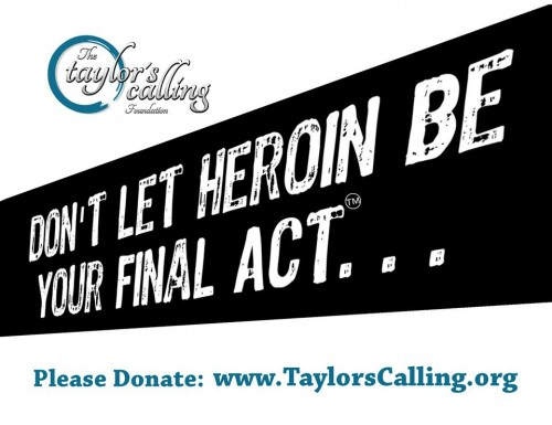 Taylors Calling Heroin Awareness and Prevention New Mexico
