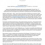 2014 Tune Up Casting Panel Press Release_Page_1