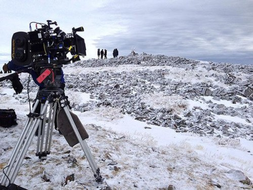 Batman v Superman filming in New Mexico snow OHI
