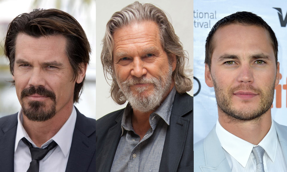 Josh Brolin Jeff Bridges Taylor Kitsch Filming in New Mexico
